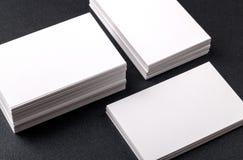 вектор типа логоса иллюстрации визитных карточек corporative Стоковые Изображения