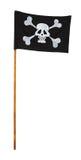вектор типа пирата имеющегося флага стеклянный Стоковая Фотография RF