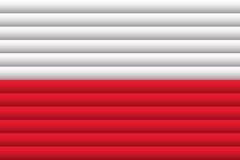 вектор типа Польши имеющегося флага стеклянный также вектор иллюстрации притяжки corel иллюстрация штока