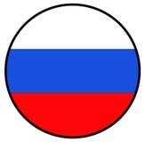 вектор типа России имеющегося флага стеклянный Стоковое Изображение