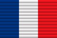 вектор типа Франции имеющегося флага стеклянный также вектор иллюстрации притяжки corel иллюстрация штока