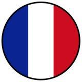 вектор типа Франции имеющегося флага стеклянный Стоковые Фотографии RF