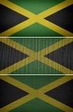 вектор типа ямайки имеющегося флага стеклянный Стоковые Фотографии RF