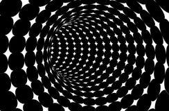 вектор тоннеля предпосылки Стоковые Изображения RF
