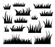 Вектор травы Стоковое Изображение RF