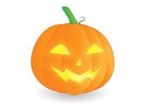 Вектор тыквы хеллоуина Стоковые Изображения RF