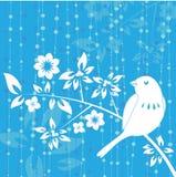 вектор украшения птицы Стоковое Изображение RF