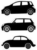 вектор установленный автомобилями Стоковые Изображения