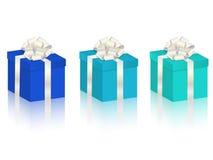вектор установленный подарками Стоковые Фотографии RF
