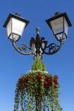 вектор улицы светильника иллюстрации eps рождества 8 Стоковые Фотографии RF
