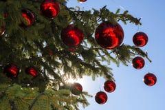 вектор улицы светильника иллюстрации eps рождества 8 Стоковые Изображения