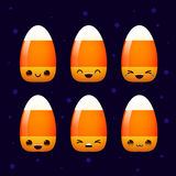 Вектор улыбки мозоли конфеты хеллоуина Стоковое Изображение