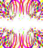 вектор феиэрверков confetti Стоковое фото RF