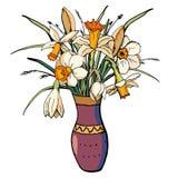 Вектор флористический иллюстрация штока