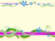 вектор флористического орнамента Стоковое фото RF