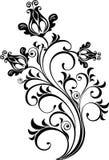вектор флористического орнамента Стоковые Изображения