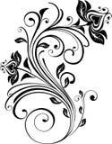 вектор флористического орнамента Стоковое Изображение