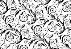 вектор флористической картины безшовный Стоковая Фотография RF