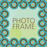вектор фото рамки конструкции Иллюстрация штока