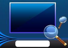 вектор фото рамки Стоковые Изображения RF