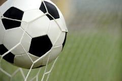 вектор футбола цели шарика Стоковое фото RF