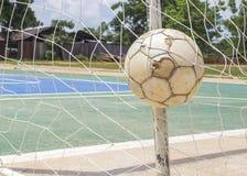 вектор футбола цели шарика Стоковые Фотографии RF
