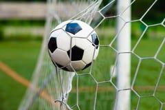 вектор футбола цели шарика Стоковая Фотография RF