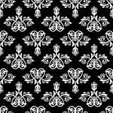 вектор флористической картины безшовный Конспект Востока Стоковое Изображение
