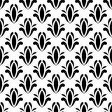 вектор флористической картины безшовный Стоковое Фото