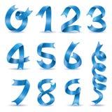 Вектор характера номера ленты Стоковые Изображения RF