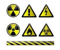 вектор химических символов Стоковые Фото