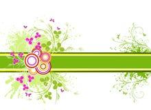 вектор художнической конструкции предпосылки флористический Стоковое фото RF