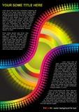вектор цвета предпосылки полный бесплатная иллюстрация