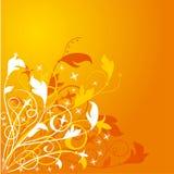 вектор цветка предпосылки Стоковое Изображение RF