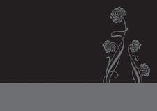 вектор цветка предпосылки Стоковая Фотография