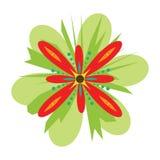 вектор цветка фантазии Стоковые Фотографии RF