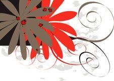 вектор цветка черепашок Стоковые Фото