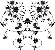 вектор цветка элемента конструкции Стоковые Фотографии RF