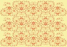 вектор цветка элементов конструкции предпосылки Стоковые Фото