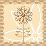вектор цветка Стоковая Фотография