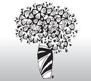 вектор цветков Стоковые Изображения RF