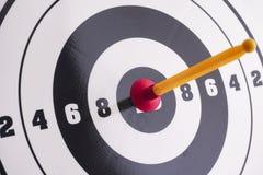 вектор цели иллюстрации стрелки Стоковое Изображение RF