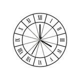 Вектор часов стоковые фото
