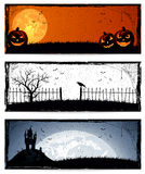 1 вектор части иллюстрации halloween знамен Стоковое фото RF