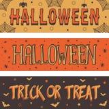 1 вектор части иллюстрации halloween знамен бесплатная иллюстрация