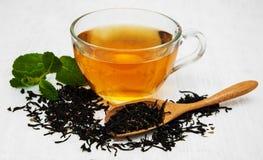 вектор чая мяты чашки Стоковые Фото