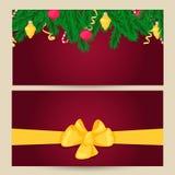 вектор шаблона архива eps рождества 8 знамен включенный Элемент дизайна зимнего отдыха Объект Нового Года Иллюстрация штока