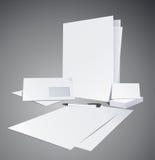 вектор шаблонов иллюстрации корпоративной тождественности Стоковая Фотография