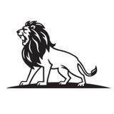 Вектор шаблона логотипа льва Стоковые Фотографии RF