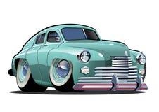 вектор шаржа автомобиля ретро Бесплатная Иллюстрация